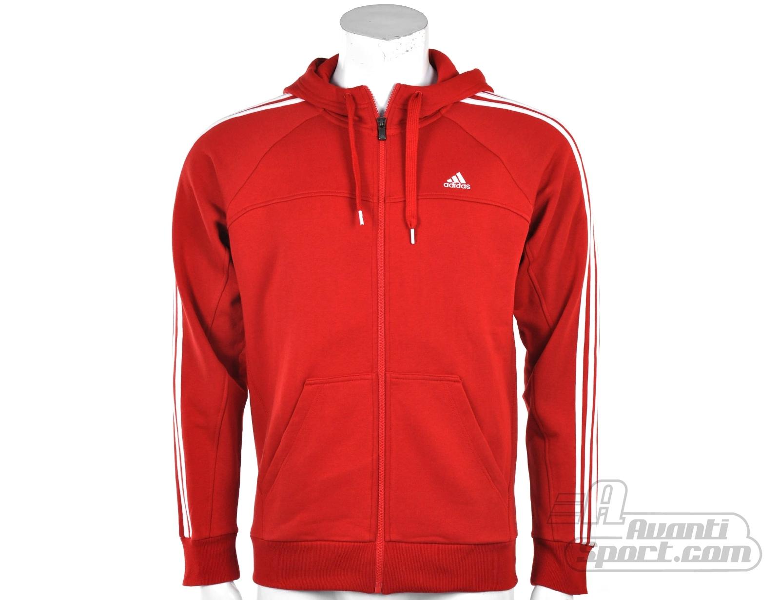 adidas-Essentials-3Stripes-Full-Zip-Hood-X20757