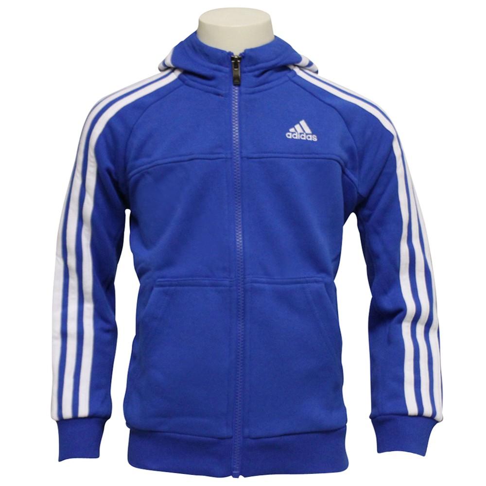 adidas_vest_kobalt_blauwwit_kinderen